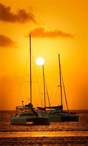 Sunset - St Lucia
