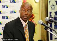 St Lucia Ministry of Tourism Permanent Secretary Donovan Williams