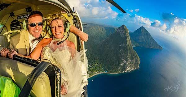 Extreme St Lucia Weddings