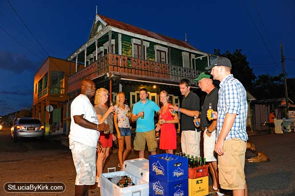 Gros Islet Friday Night Street Party