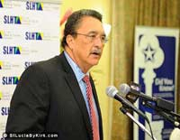 Saint Lucia Prime Minister Dr. Kenny Anthony
