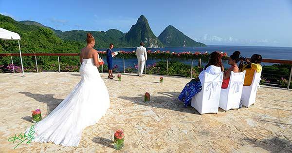 Pam & Kevin's Saint Lucia Wedding