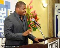 St Lucia Air & Sea Ports Authority GM Sean Matthews