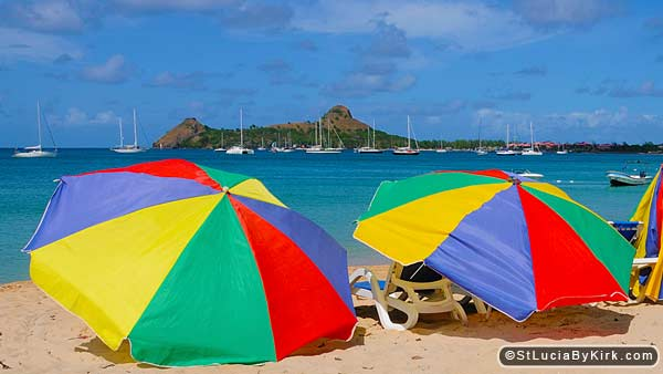 St Lucia Beaches - Rodney Bay