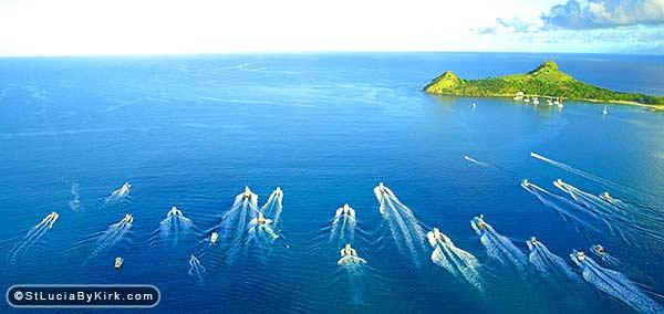 St Lucia Fishing Tournament Bimini Start
