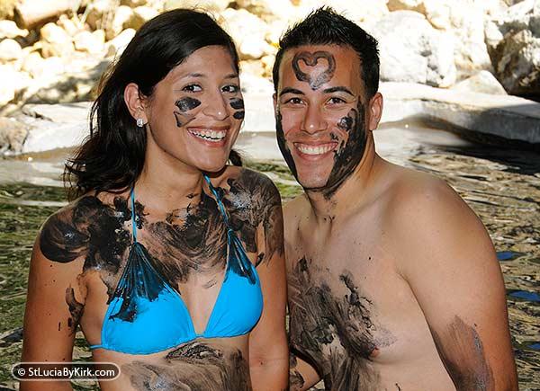St Lucia Volcano Mud Baths