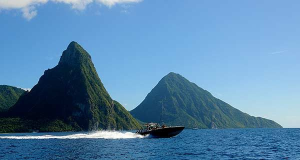 St Lucia Speed Boat Tour