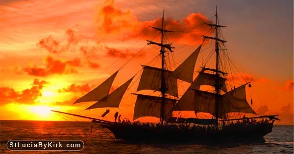 St Lucia Sunset Cruise