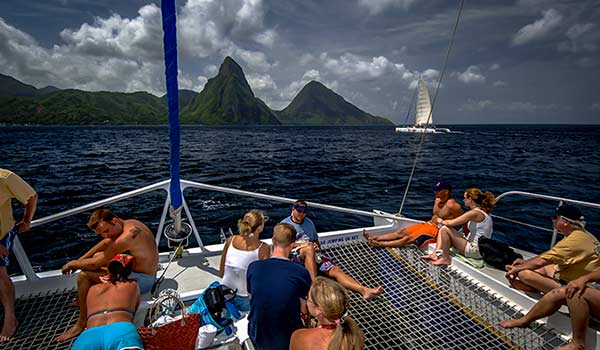 St Lucia Weather in February