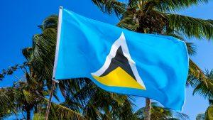 St Lucia Flag