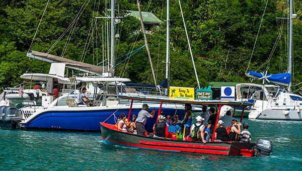 Marigot Bay Ginger Bread Ferry