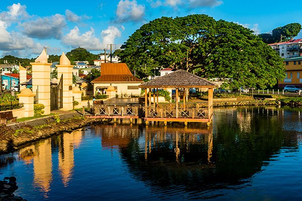 St Lucia Gazebo