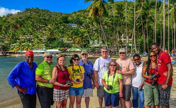 St Lucia Group Photo Tour