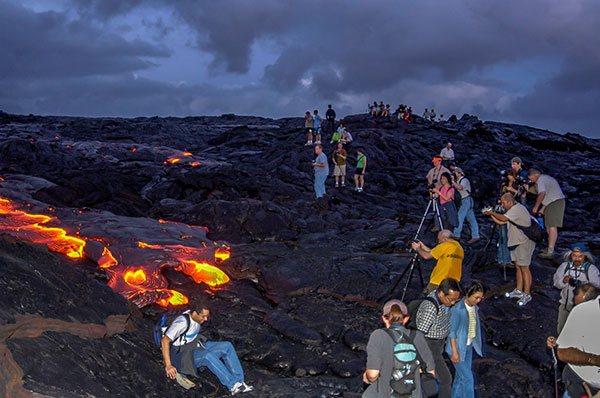 St Lucia Lava Flow